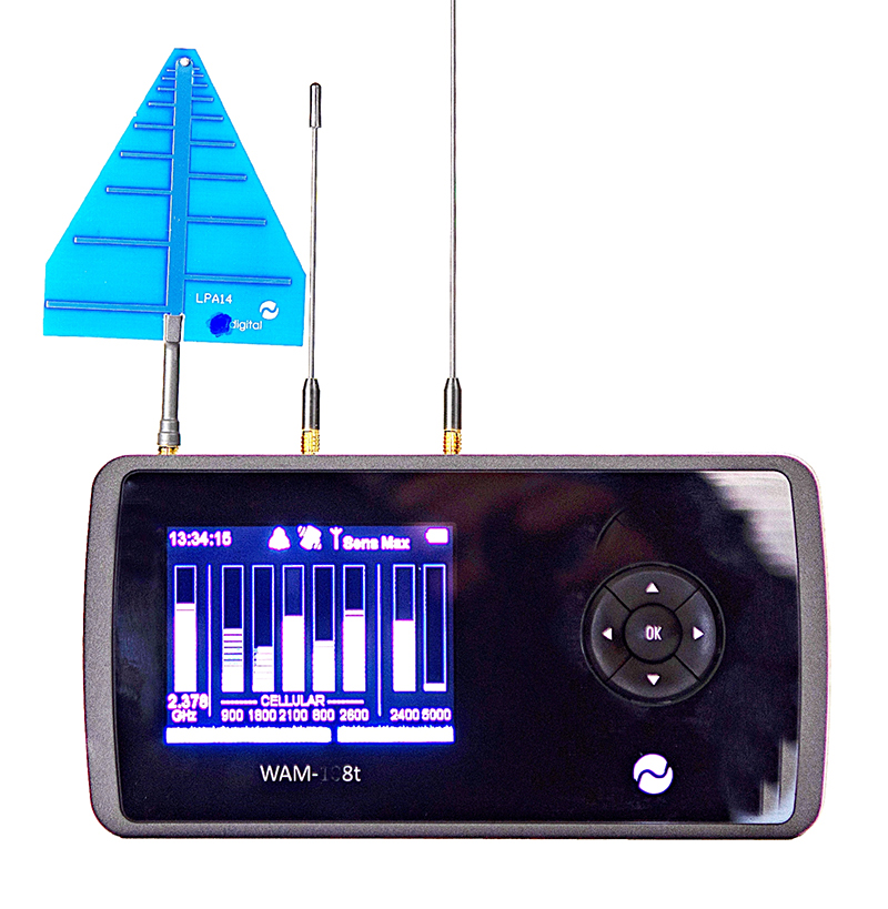 Digitaal breedband opspoorsysteem