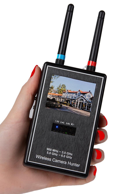 Draadloze Camera en Wifi Scanner en Opspoorder