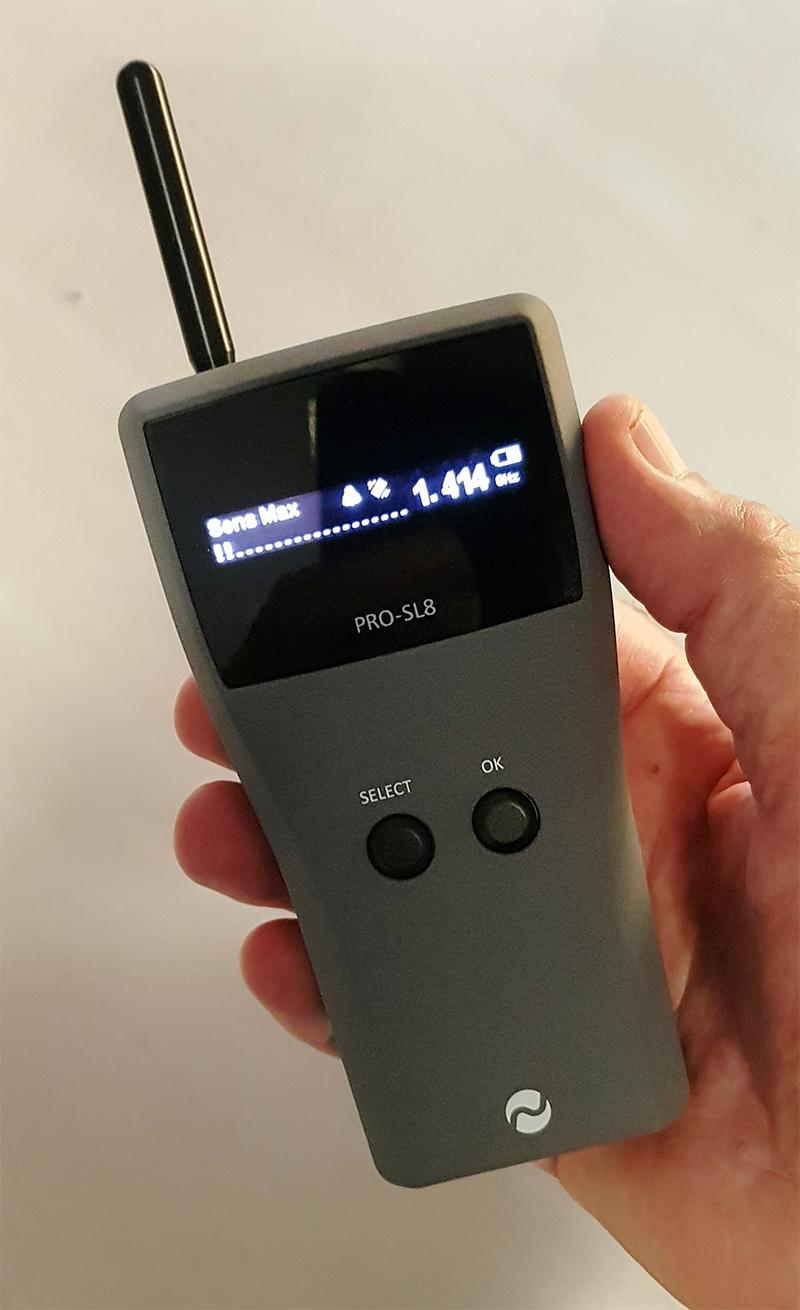 Handheld Afluister Opspoorapparaat