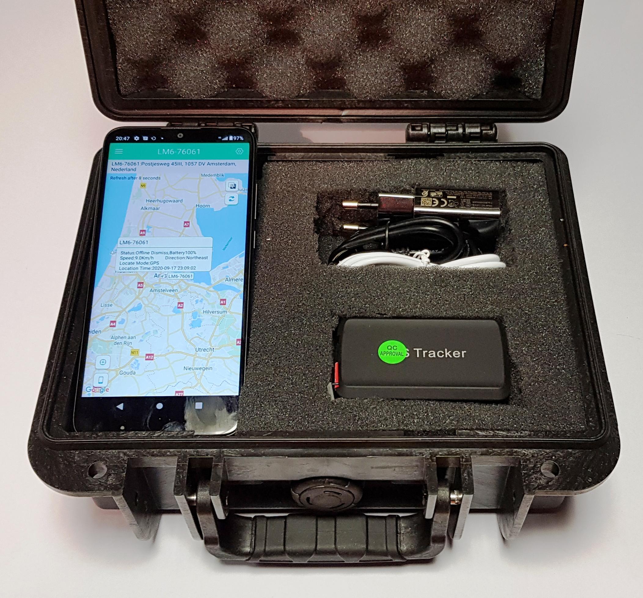GPS Volgpakket